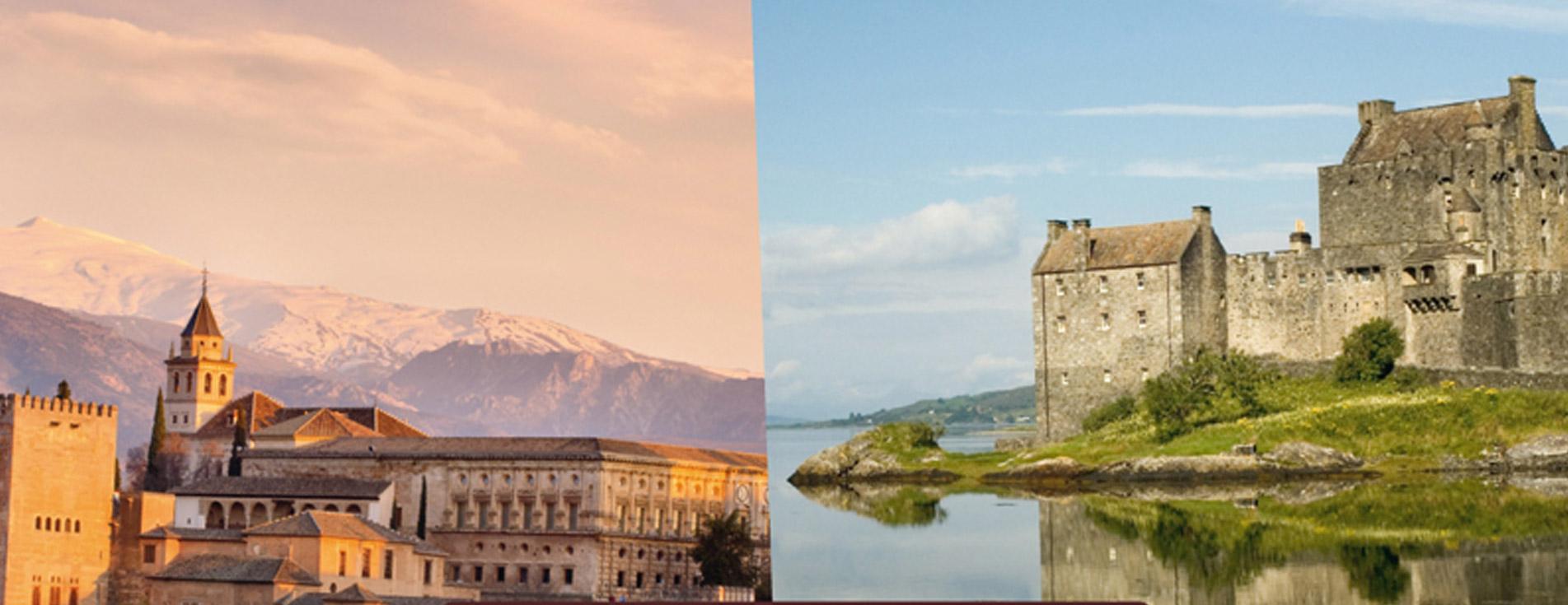 Die schönsten Schlösser und Burgen Europas
