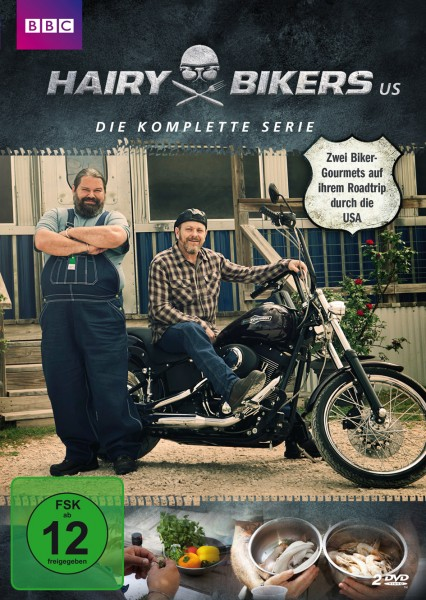 Hairy Bikers US DVD-Front