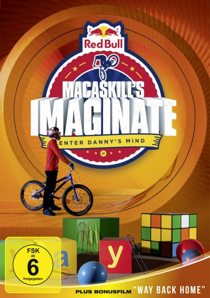Danny MacAskill Imaginate DVD