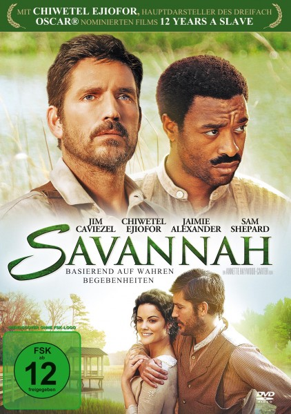 Savannah DVD Front