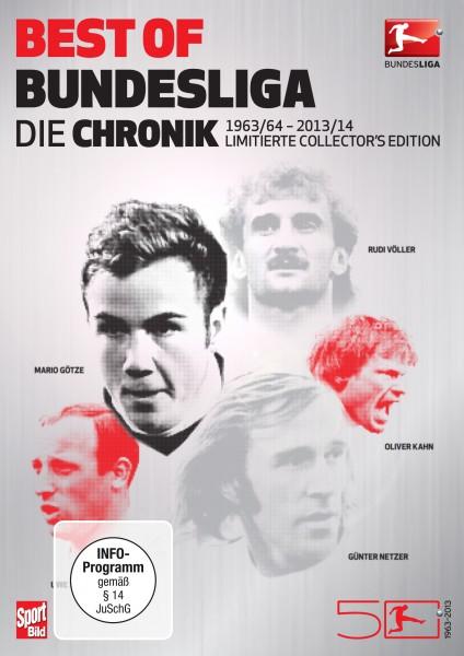 Best of Bundesliga - Die Chronik - DVD-Box Front