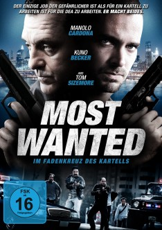 Most Wanted DVD Cover
