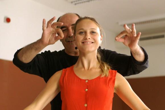 Anna Unterberger als Mira mit Antonio Viganó als Antonio