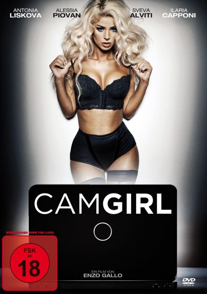 Cam Girl DVD Front