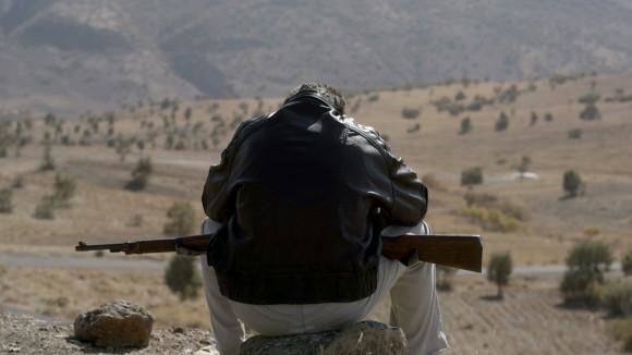 Siyar (Taher Abdullah Taher) in Kurdistan; Standbild aus dem Film