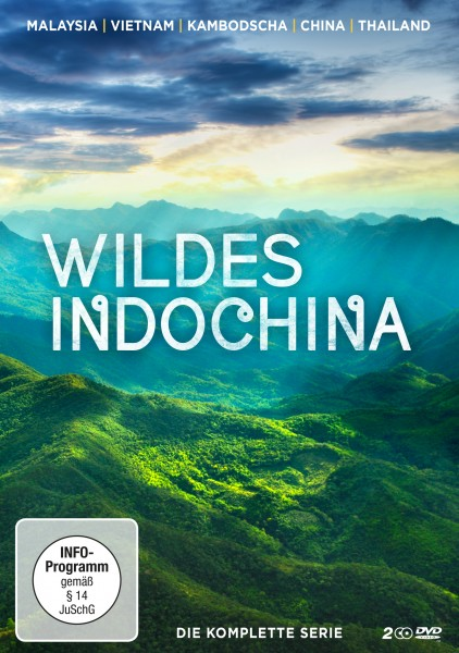 Wildes Indochina - DVD-Front