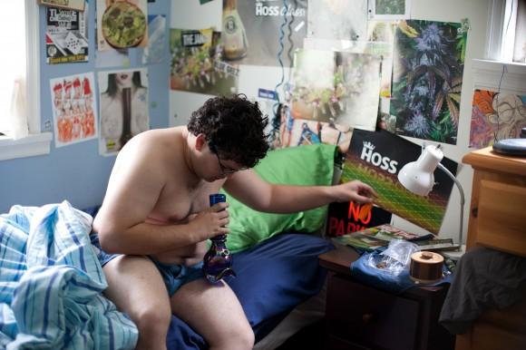 Cannabis KId Szenenfoto
