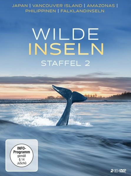 Wilde Inseln - Staffel 2 DVD Front