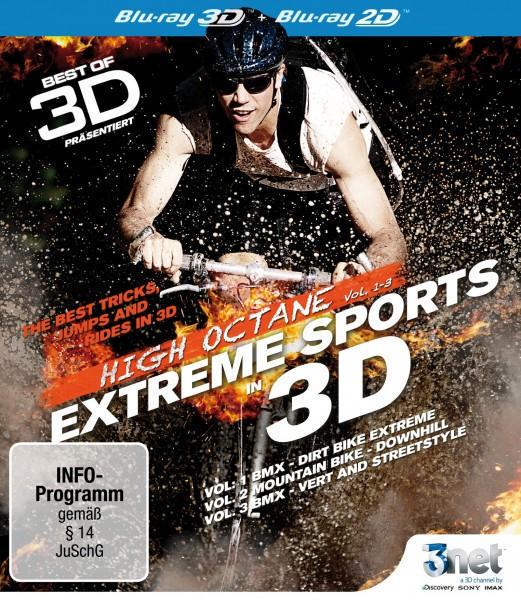 Best of 3D – High Octane Vol. 1 - Vol. 3: Extreme Biking 3D Front