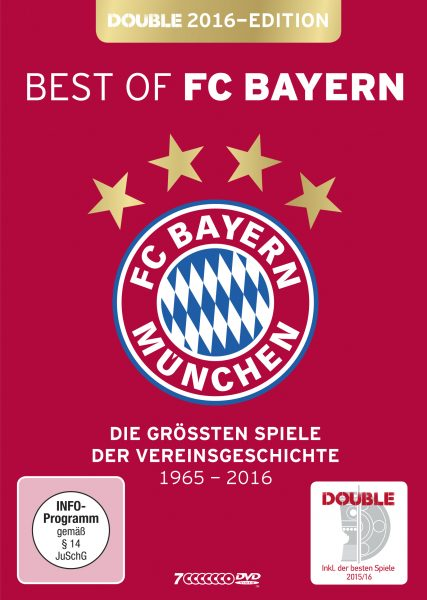 Best of FC Bayern München - DVD Front (Double Edition 2016)
