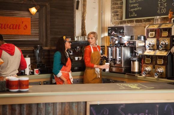Coffee Shop Szenenbild