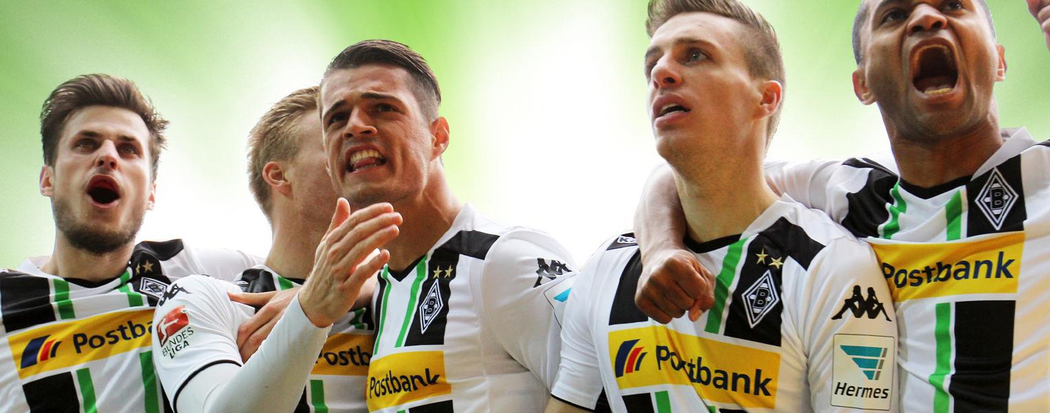 Borussia Mönchengladbach – Die Highlights der Supersaison 2014/2015