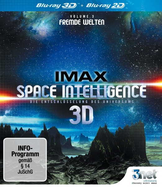 Space Intelligence Vol. 3 Blu-ray Front