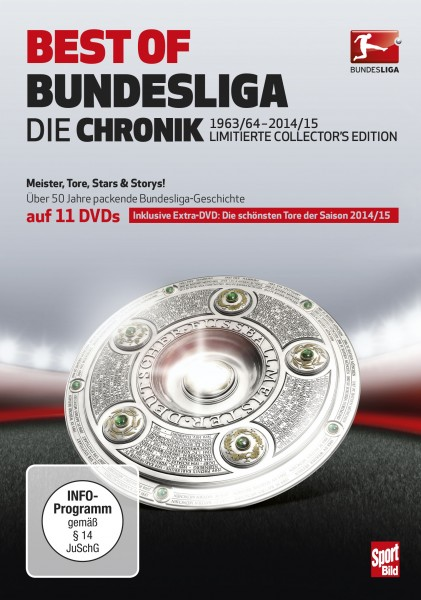 DVD-Front Best of Bundesliga 2015