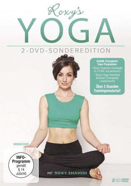 Roxys Yoga DVD Front