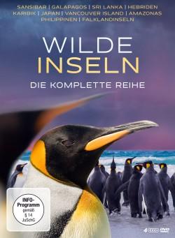 Wilde Inseln Box DVD Front