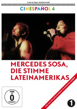 Mercedes Sosa DVD Front
