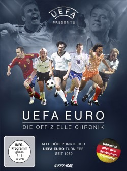 UEFA EURO - Die offizielle Chronik - DVD-Front