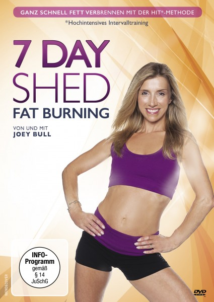 7 DAY SHED DVD Front