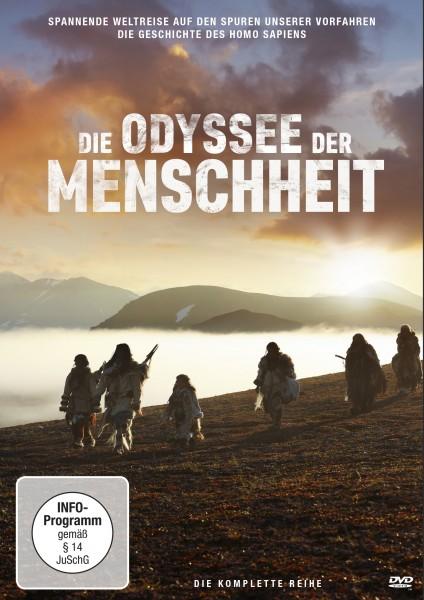 Die Odyssee der Menschheit - DVD Front