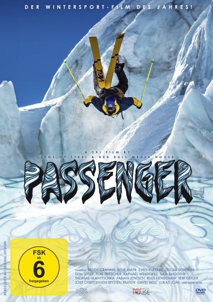 Passenger - Legs of Steel - DVD-Front