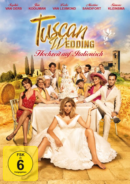 Tuscan Wedding DVD Front