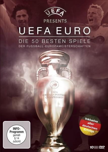 UEFA Die 50 besten Spiele DVD Front
