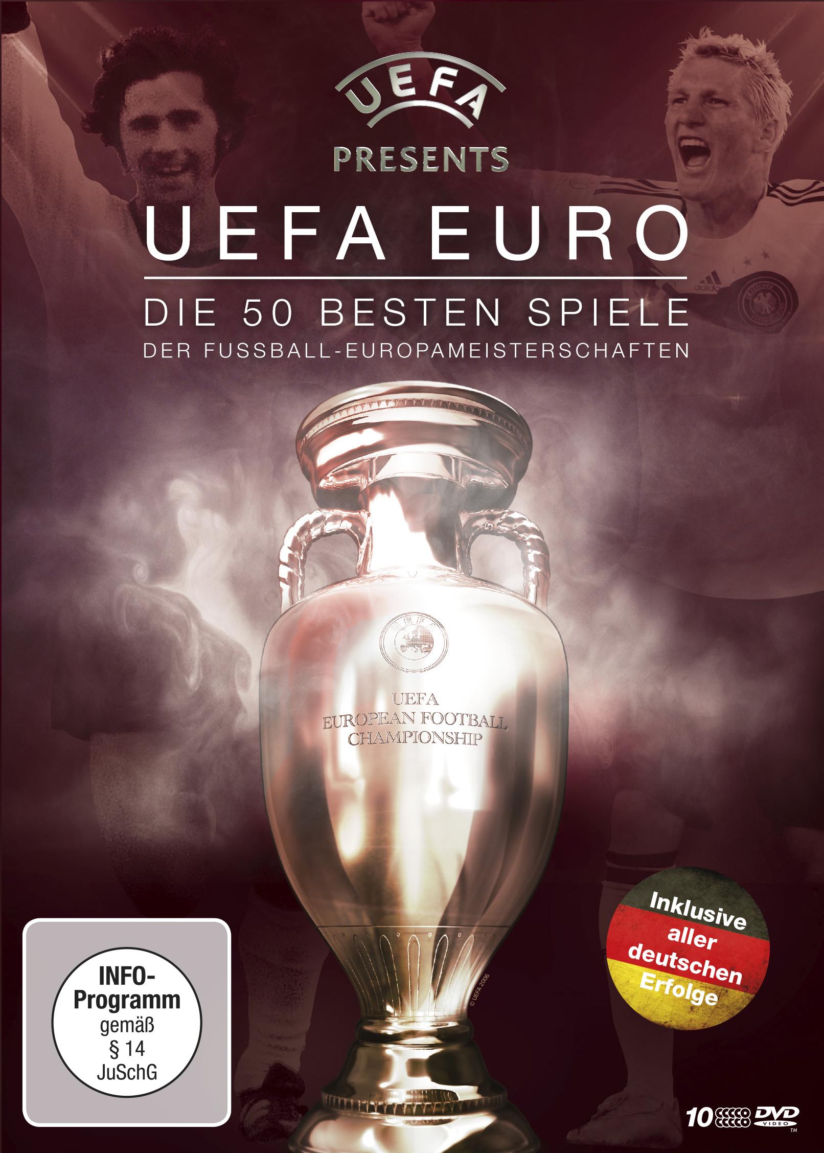 UEFA EURO – Die 50 besten Spiele der Fußball-Europameisterschaften