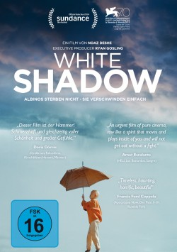 White Shadow - DVD Front