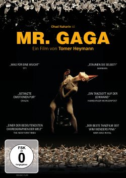 Mr. Gaga DVD Front