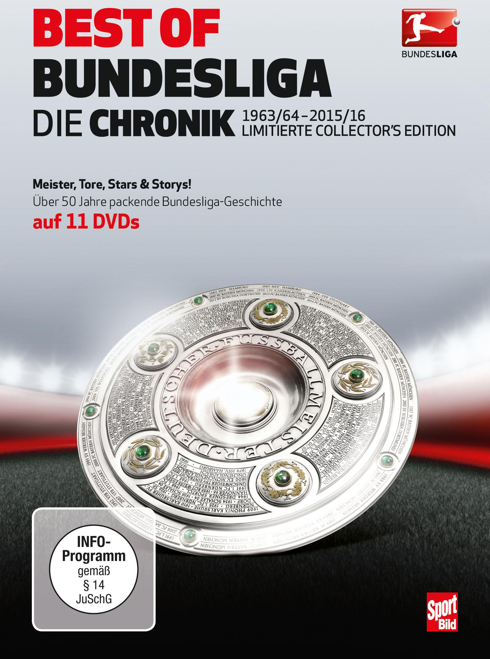 BEST OF BUNDESLIGA – Die Chronik 1963 – 2016