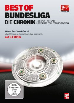 BEST OF BUNDESLIGA – Die Chronik 1963-2016  DVD-Front