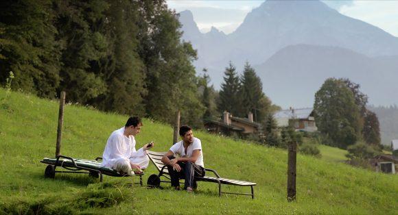Café Waldluft Szenenbild
