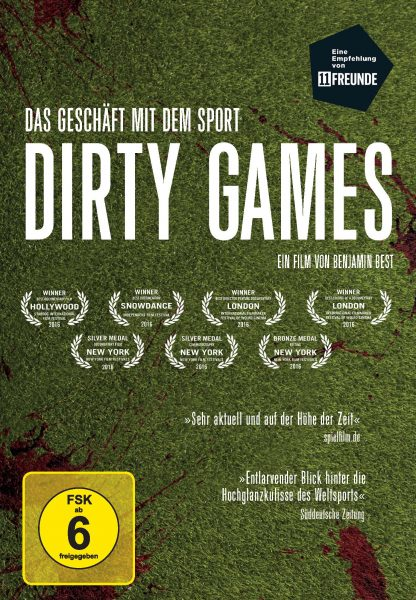 Dirty Games DVD Front