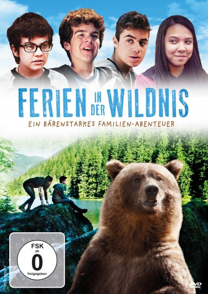 Ferien in der Wildnis DVD Front