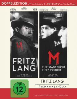 Fritz Lang Filmkunstbox Blu-ray Front