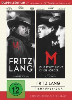 Fritz Lang Filmkunstbox DVD Front
