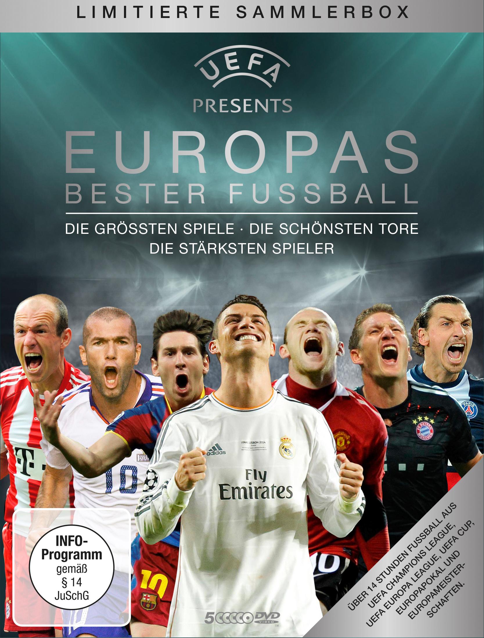 UEFA präsentiert: Europas bester Fußball (5-DVD-Box)