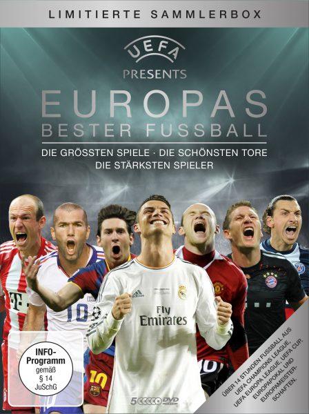 UEFA: Europas bester Fußball DVD Front
