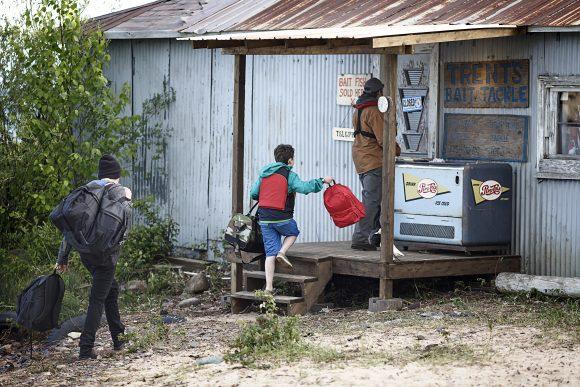 Der Schatz von Walton Island Szenenbild