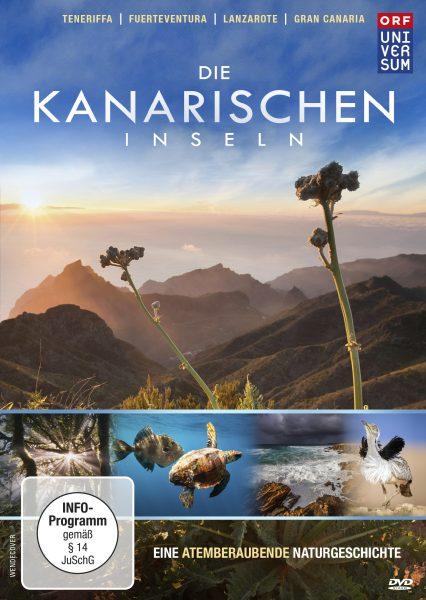 Die Kanarischen Inseln DVD Front