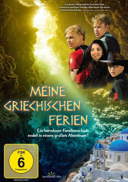Meine griechischen Ferien DVD Front