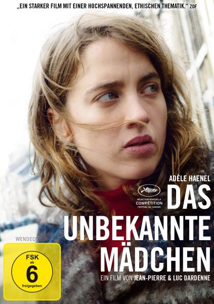 Das unbekannte Mädchen DVD Front
