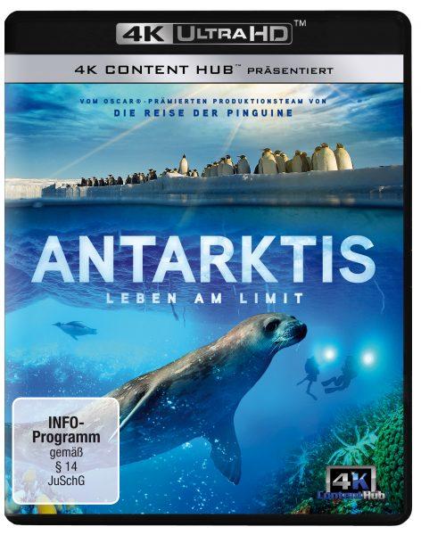 Antarktis 4K UHD Front