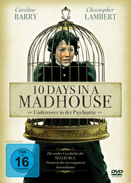 10 Days in a Madhouse DVD Front