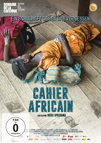 Cahier Africain DVD Front