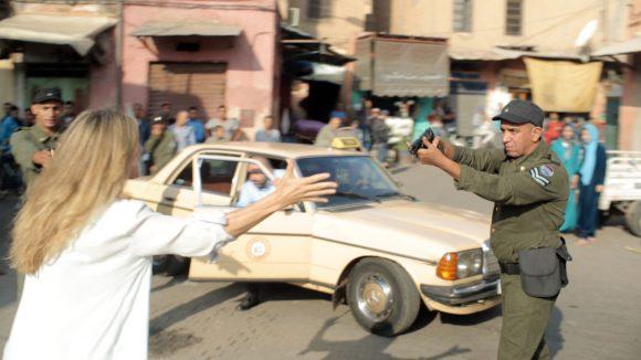 Taken in Marokko Szenenbild