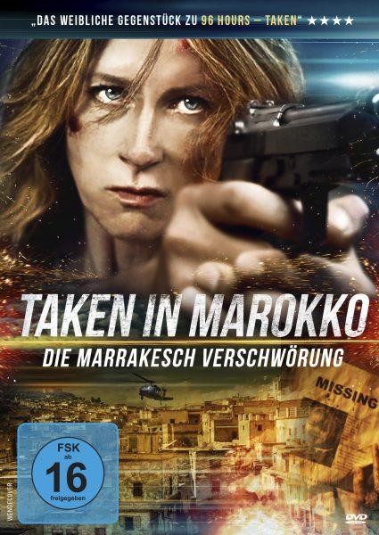 Taken in Marokko DVD Front