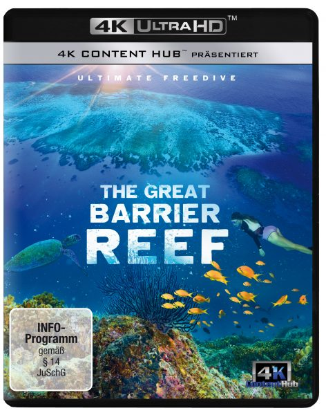 The Great Barrier Reef DVD Front