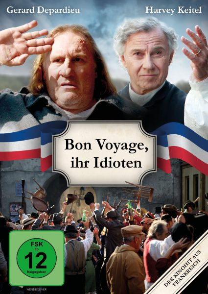 Bon Voyage DVD Front